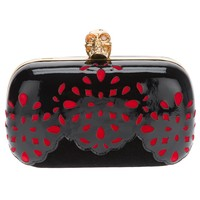 Alexander Mcqueen Cut-out Box Clutch - Russo Capri - Farfetch.com