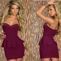 BEAUTY SMALL DRESS DRESS-1-733-5 from PSILoveYouMoreBoutique