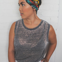 Turban Headband -- Multi Color Tribal