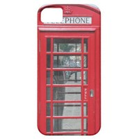 iPhone 5: Classic red telephone box photo from Zazzle.com