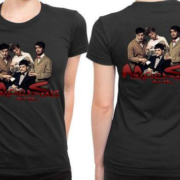 DCCKG72 Mumford And Sons Cover 2 Sided Womens T Shirt