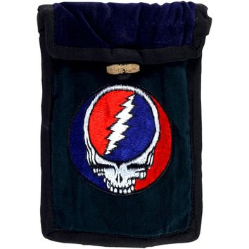 Grateful Dead - Embroidered Green Passport Bag