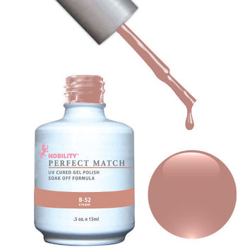 LeChat Perfect Match Gel / Lacquer Combo - B-52 0.5 oz - #PMS17