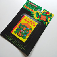 Vintage Teenage Mutant Ninja Turtles Address Book 1989