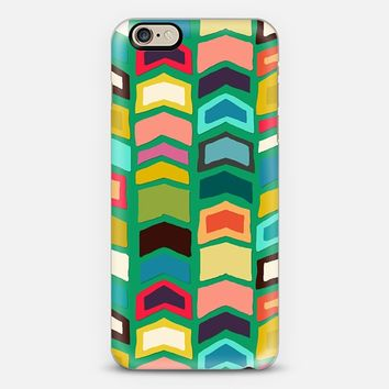 arrow pop green iPhone 6 case by Sharon Turner | Casetify