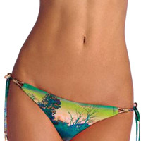 Vitamin A Gwyneth Tie Side Bikini Bottom