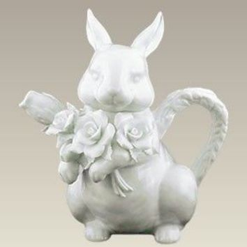 Bunny Rabbit Shaped Teapot