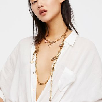 Free People Eternal Charm Chain Scarf