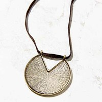 Heavy Layer Pendant Necklace