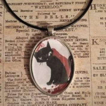 Black Cat from Emily the Strange Necklace