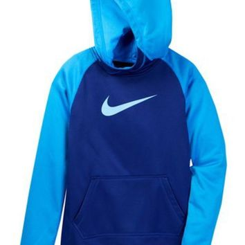 Nike | All Time Therma Hoodie (Little Girls & Big Girls) | Nordstrom Rack