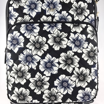 Kate Spade Ridge Street International Carry on Luggage Suitcase Floral Blue White