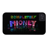 Completely Phoney (Photograph) iPhone 4 Covers