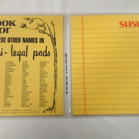 Vintage Susie Stationary, Mini Legal Pad with Envelopes, Susie