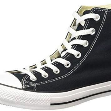 DCKL9 Converse Unisex Chuck Taylor All Star Core Hi Classic Black Sneaker Men's 8.5, Women's