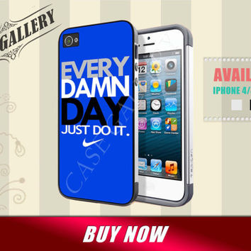 iphone 5c case nike every damn day just do it iphone 4 4s case nike iphone 5 5c 5s case, nike just do it every damn day samsung s3 s4 case