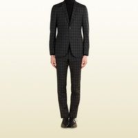 Gucci - dylan 60's check print wool suit 310824Z67651068