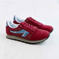 The People's Movement Burgundy Cochise Runner Sneaker - Maroon
