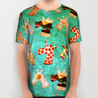 Unicorn Food All Over Print Shirt by That's So Unicorny