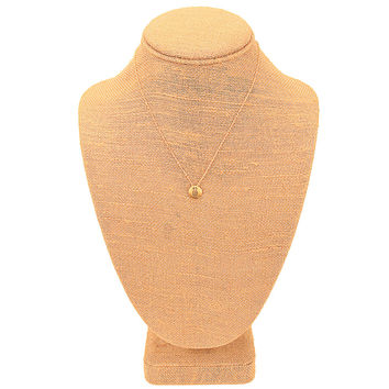 Gold Engraved Petite Pineapple Necklace by Country Club Prep