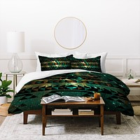 Caleb Troy Gatsby Dust Tribal Duvet Cover