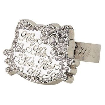 Hello Kitty Ring / jewelry: Logo Face $25.99