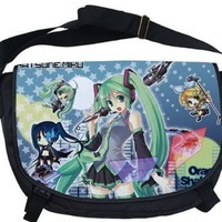 Vocaloid Hatsune Miku Messenger School Shoulder Bag Big Size **Free Ship**