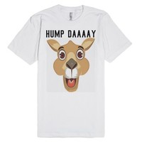 Hump Day t shirt tee funny-Unisex White T-Shirt