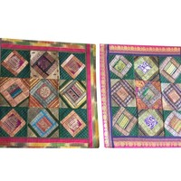 Mogul Set of 2 Decorative handcrafted Sari Cushion Cover, Throw Pillow Case Home Décor Idea: Amazon.ca: Home & Kitchen