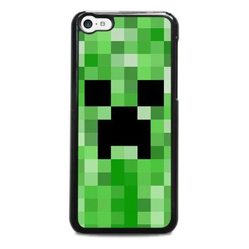 creeper minecraft 2 iphone 5c case cover  number 1