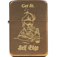 Self Edge Zippo Vintage 1941 Repro Lighter - Get Lit - $41.00 : Self Edge : Japanese Selvedge Denim
