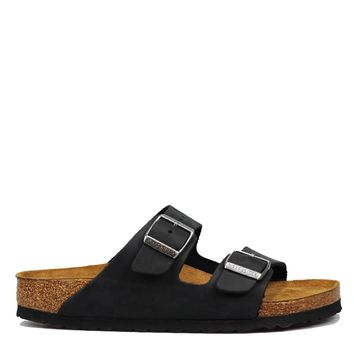 Birkenstock Arizona Soft Footbed Oiled Leather - Black