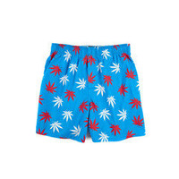 HUF - PLANTLIFE BOXERS // BLUE / RED