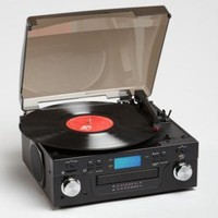Crosley USB turntable w/ CD player