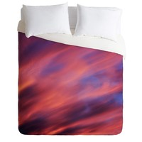 Shannon Clark Painted Sunset Duvet Cover