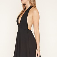 Halter Fit and Flare Dress | Forever 21 - 2000178541