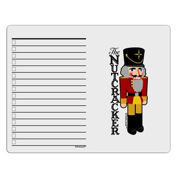The Nutcracker with Text To Do Shopping List Dry Erase Board by TooLoud