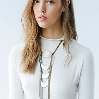 Love and Leather for Free People Womens Golden Paradise Necklace