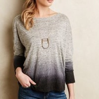 Heathered Dip-Dye Pullover by MiH Grey Motif
