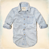 Ponto Beach Denim Shirt