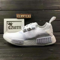 """Women """"Adidas"""" NMD Boost Casual nmd Sports Shoes White"""