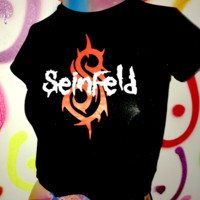 SWEET LORD O'MIGHTY! SEINFELD CROP TEE