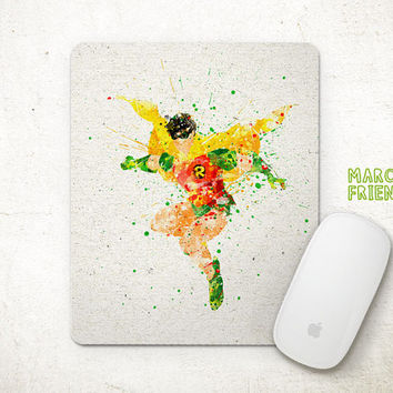 Robin Watercolor Art, Batman Mousepad, Mouse Pad, Office Deco, Holiday Gifts, Art Print, Desk Decor, Batman Accessories