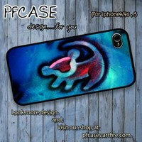 Lion king simba cartoon Case For Iphone 44s 5 Samsung S2S3S4 by pfcase on Zibbet