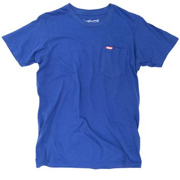 Ames Bros Royal Blue Pocket Tee