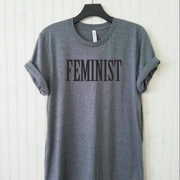FLASH SALE!!! Feminist Women's T-shirt, Feminst Unisex Tee, Men's Feminst Tshirt,Feminism Shirts,  Flawless shirt