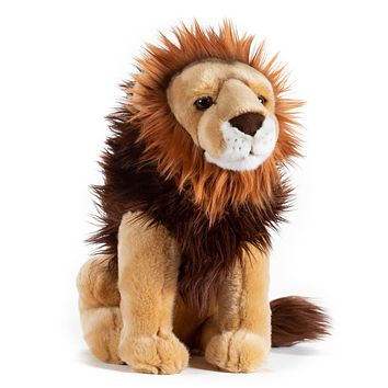 15 Inch Stuffed Lion Plush Floppy Animal Kingdom Collection