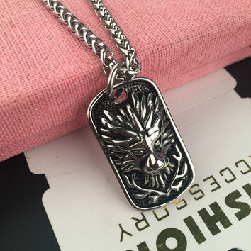 Stylish Jewelry Gift New Arrival Shiny Hot Sale Fashion Hip-hop Club Necklace [6542762499]