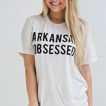 charlie southern: arkansas obsessed t shirt