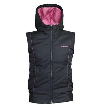 FlyLow Womens Puffer Down Smuggler Winter Vest Snowboarding & Ski Jacket Coat